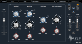 preamp equalizer audio plugin