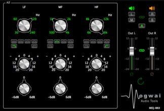 passive equalizer audio plugin