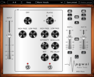 plate reverb audio plugin