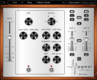 plate reverb audio plugin