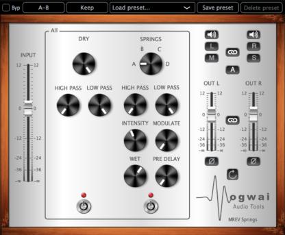 spring reverb audio plugin