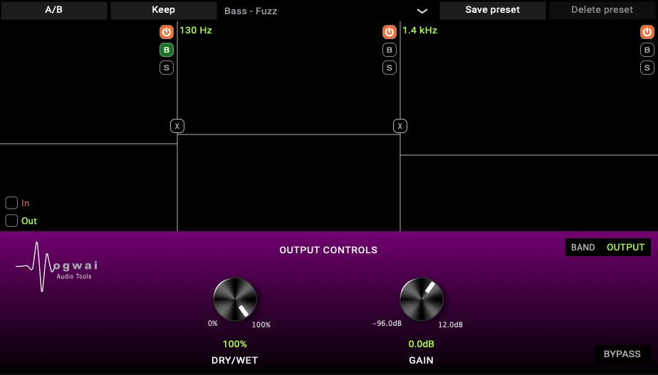 MSAT-MULTI Output Controls